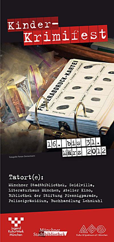 Kinder-Krimifest Programm 2012